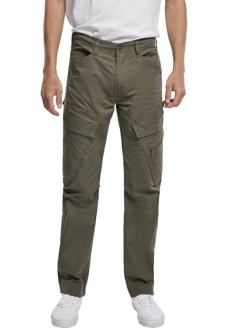 Brandit - ACCESSOIRES ADVEN  - Cargo trousers - olive
