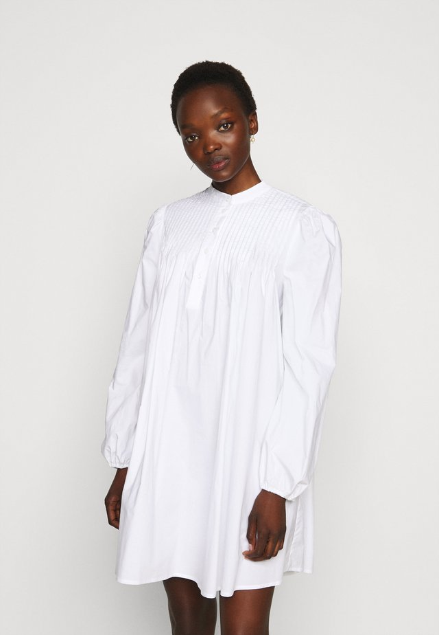 VITA THINK TWICE - Shirt dress - bright white