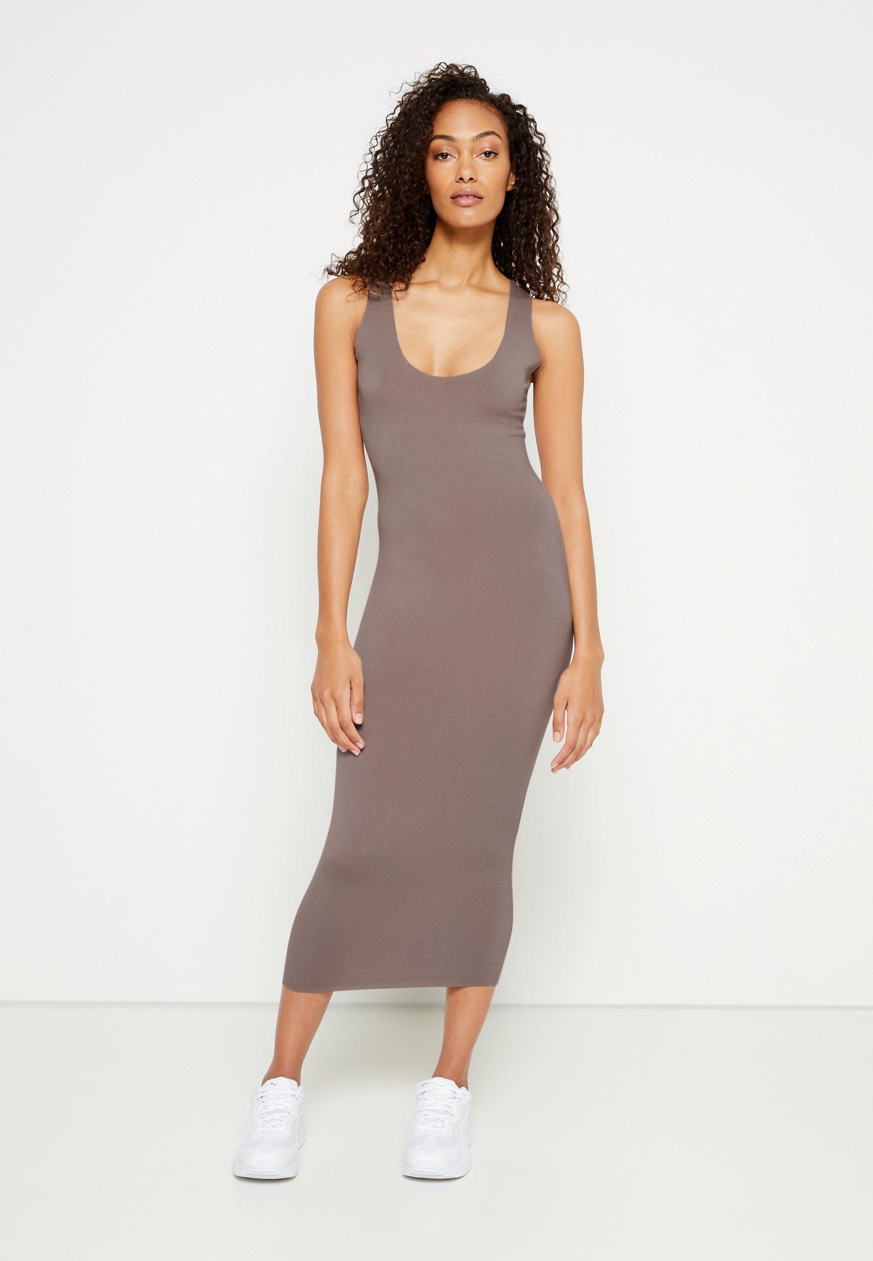 Women RAW EDGE SLINKY RACER MIDI DRESS - Day dress