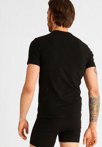 Calvin Klein Underwear - 2 PACK - Undershirt - black - 1