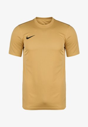 DRI-FIT PARK - T-shirt basic - jersey gold / black