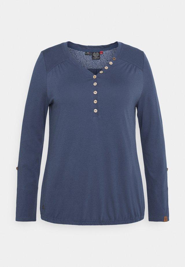 PINCH SOLID PLUS - T-shirt à manches longues - blue