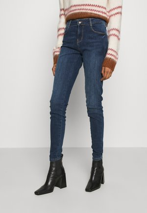 KIMBERLY PATRIZIA - Jean slim - dark blue denim