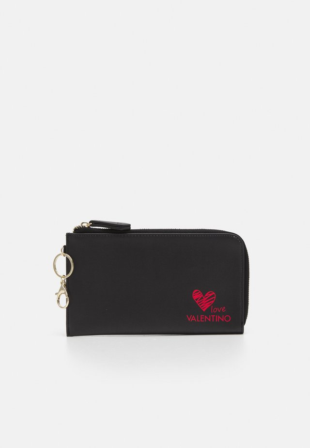 SOFT COSMETIC CASE - Trousse - nero/rosso