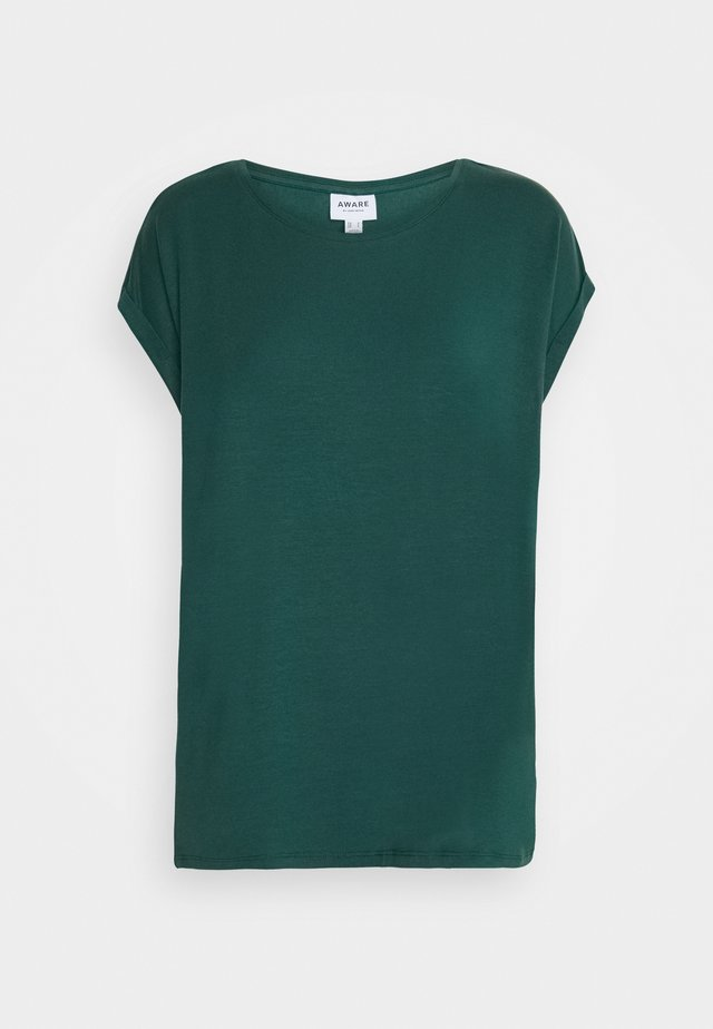 VMAVA PLAIN  - T-shirt basic - sea moss