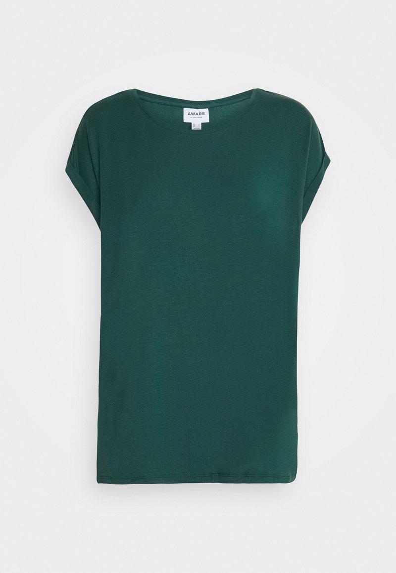 Vero Moda - Jednoduché triko - sea moss