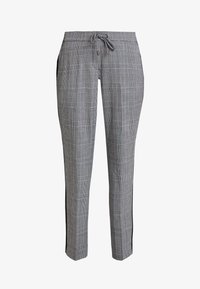 comma casual identity - TROUSERS - Trousers - grey/black - 4