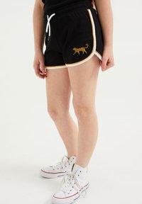 WE Fashion - Shorts - black - 1