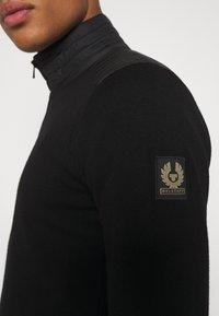 Belstaff - KELBY ZIP CARDIGAN - Cardigan - black - 5