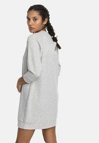 Puma - Jersey dress - light gray heather - 2