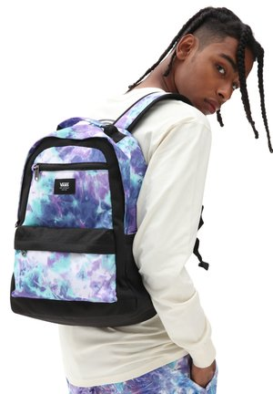UA STARTLE BACKPACK - Rucksack - english lavender tie dye