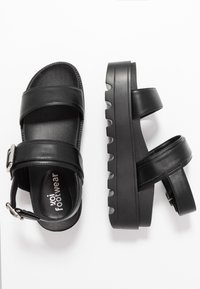 Koi Footwear - VEGAN  - Platåsandaler - black - 3