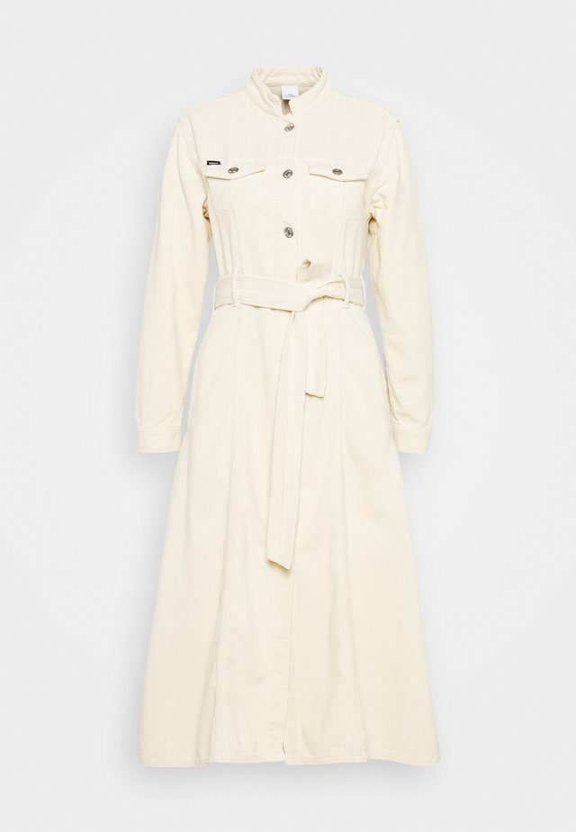 LAUREN - Shift dress - ecru