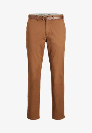 CODY SPENCER - Chino - dark camel