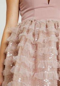 Rare London - SEQUIN DETAIL PROM DRESS - Cocktail dress / Party dress - lilac - 5