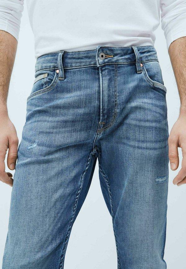 Pepe Jeans Jeansy Slim Fit - denim/niebieski denim Odzież Męska VODK