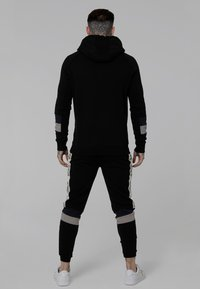 SIKSILK - OLD ENGLISH BORG QUARTER ZIP - Sudadera - black - 2