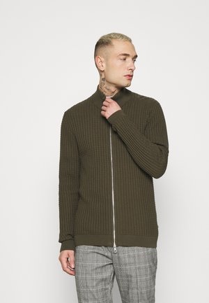 MACARDO - Cardigan - olive night