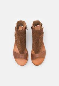 Felmini - CAROLINA  - Ankle cuff sandals - brown - 5