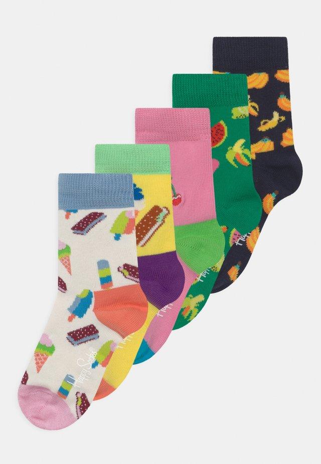 ICECRAM 5 PACK UNISEX - Socks - multicoloured