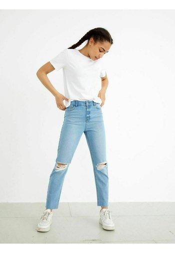 HIGH WAIST - Jeansy Slim Fit - light blue denim