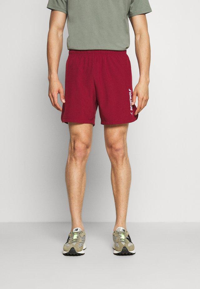WARRIOR SHORTS - Short de sport - maroon