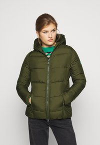 Save the duck - RECYY - Winter jacket - dusty olive - 0