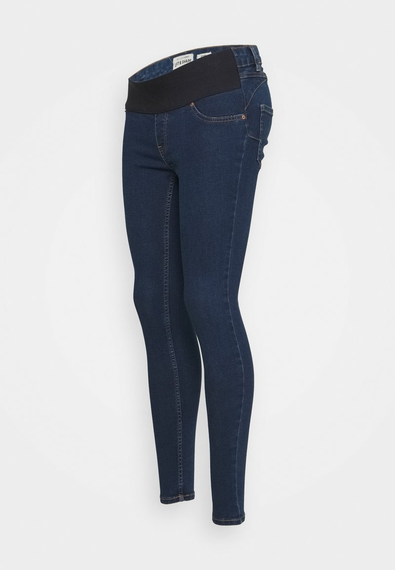 New Look Maternity - JACKSON RAIN RINSE JEGGING - Jeans slim fit - indigo