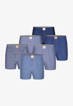 6 PACK  - Boxershort - light blue.dark blue