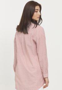 b.young - BYFIE STRIPE - Button-down blouse - canyon rose mix - 2