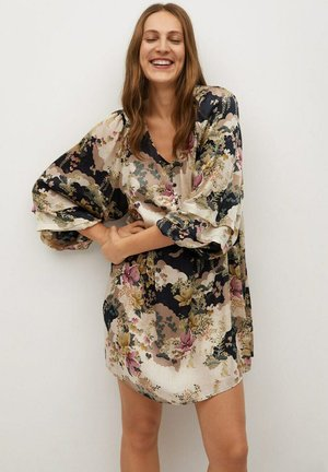 MULAN - Robe chemise - cremeweiß