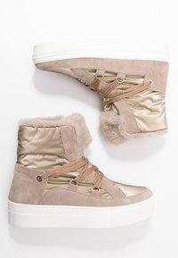 Tosca Blu - ADELE - Platform ankle boots - beige - 3