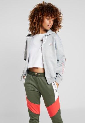 ZIP UP HOODY - Fleece jacket - grey