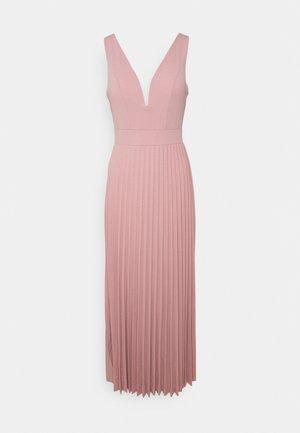 SAFA PLEATED MAXI DRESS - Iltapuku - blush pink