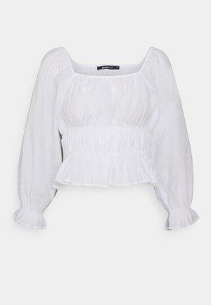 KATINKA BLOUSE - Blouse - white