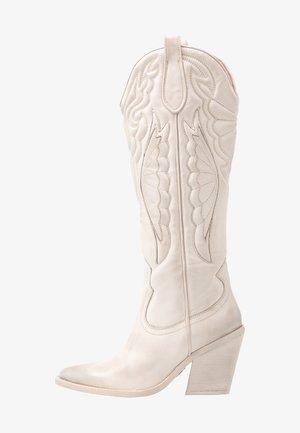 NEW KOLE - High heeled boots - offwhite