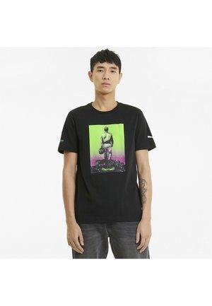 F1 GRAPHIC - Print T-shirt - puma black