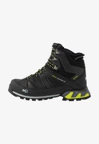 Millet - HIGHROUTE GTX - Walking boots - black/acid green - 0