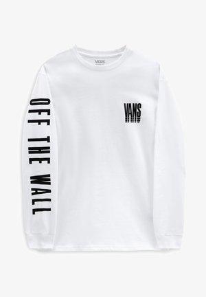 MN VANS REFLECT LS - Pitkähihainen paita - white