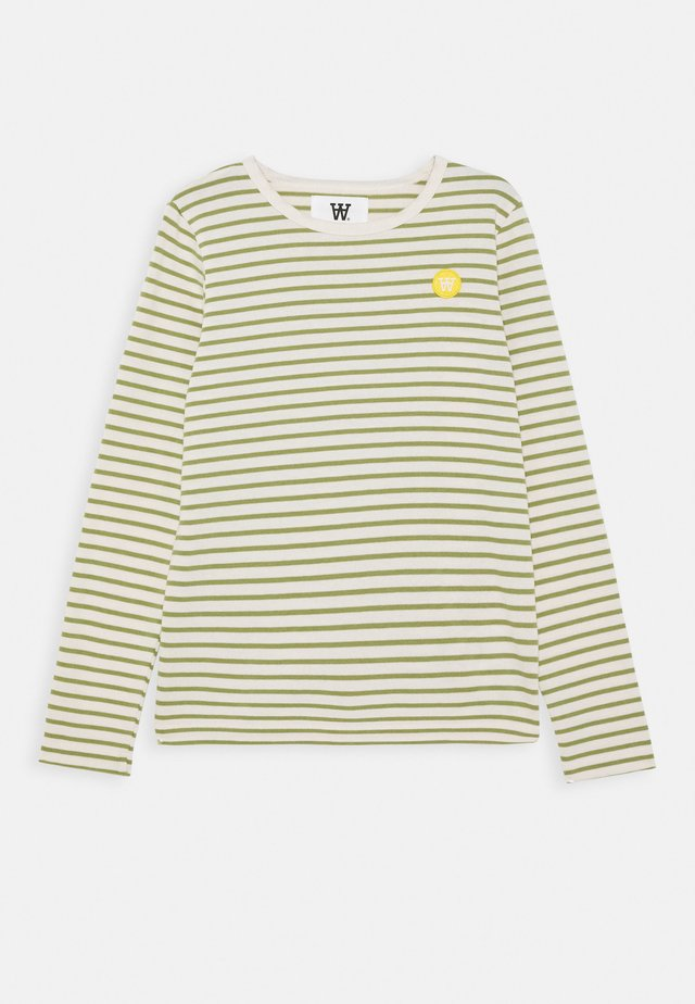 KIM KIDS - Long sleeved top - off white/olive