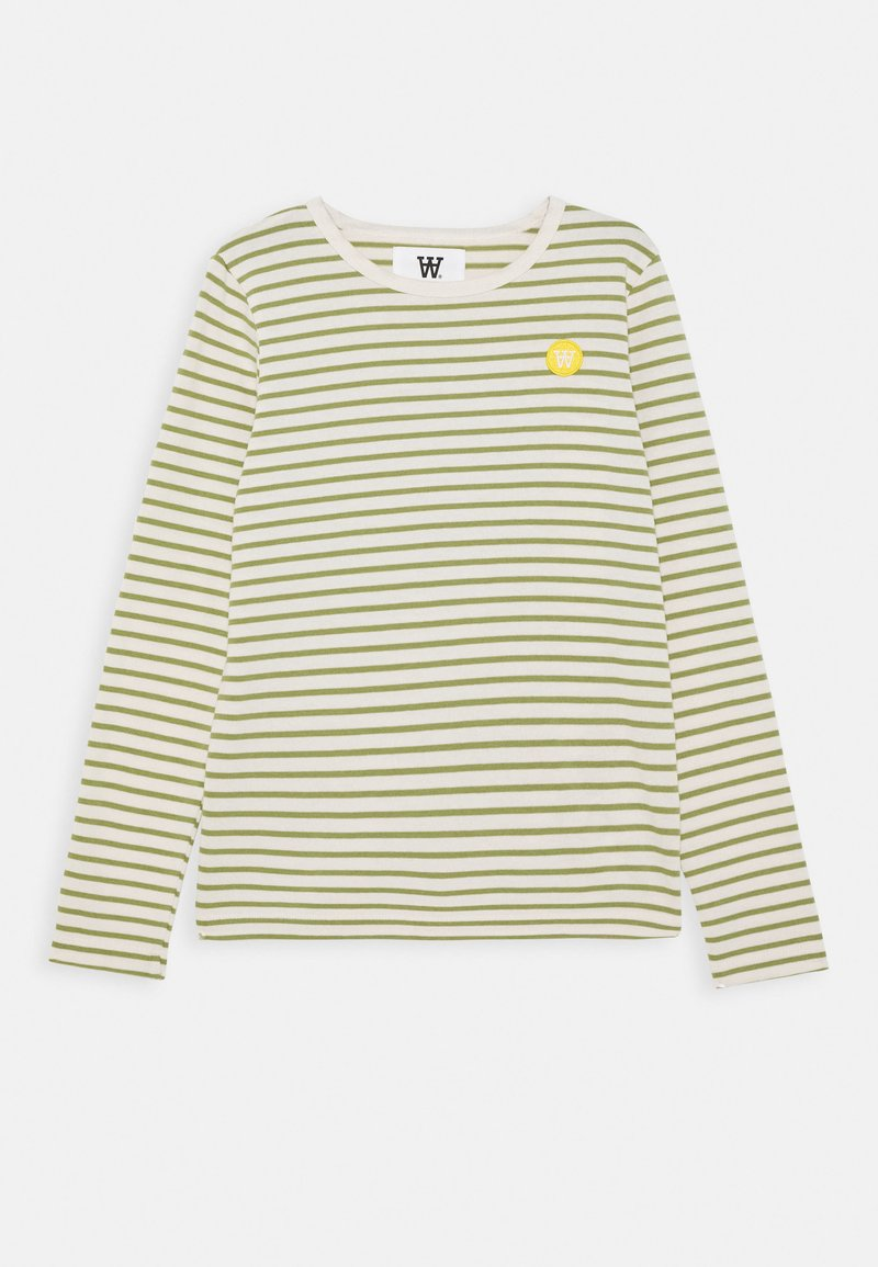 Wood Wood - KIM KIDS - Langærmede T-shirts - off white/olive
