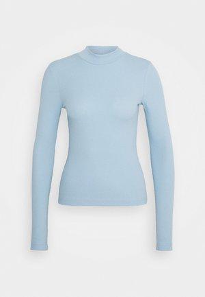 VERA MOCKNECK - Long sleeved top - blue
