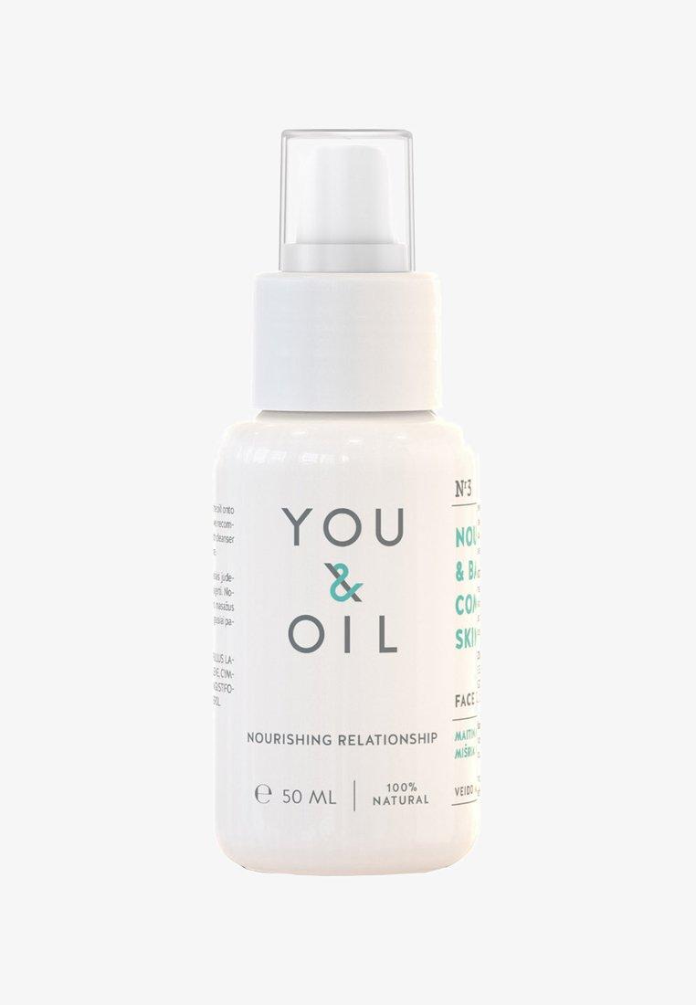 YOU & OIL - FACE OIL NOURISH & BALANCE COMBINATION SKIN 50ML - Face oil - -