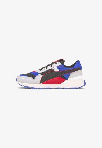Sneakers laag - gray violet-lapis blue