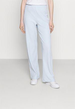 CLARA TOUSERS - Spodnie materiałowe - blue light