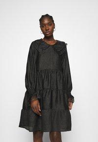 Cras - LENACRAS DRESS - Cocktail dress / Party dress - black - 0