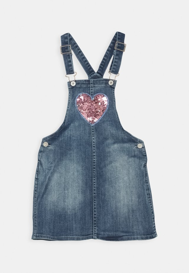 Denim dress - dark blue denim