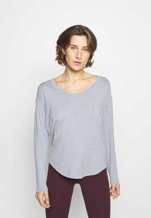 CLOUDLIGHT STRATUS - Långärmad tröja - powder blue heather