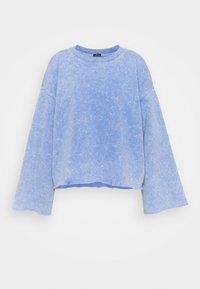 GAP - FLARE  CROP - Sweatshirt - neon medium blue - 5