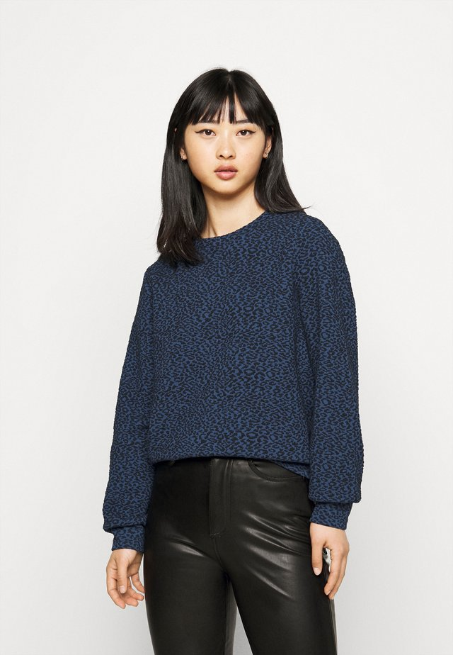 ONLSOFIA LEO - Sweater - dark blue